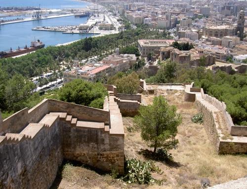 El Monte Gibralfaro: Lugares mágicos de Málaga