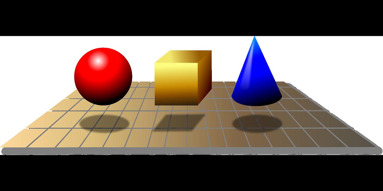 símbolos geométricos 3d